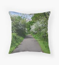 Stamford Bridge - Old Railway Throw Pillow