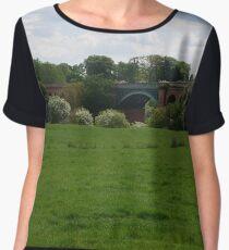 Stamford Bridge - Railway Viaduct Chiffon Top