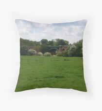 Stamford Bridge - Railway Viaduct Throw Pillow