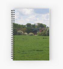 Stamford Bridge - Railway Viaduct Spiral Notebook
