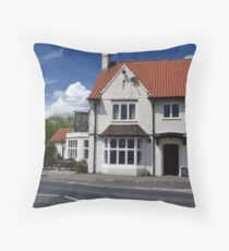 Stamford Bridge - The New Inn Throw Pillow