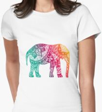 Warm Elephant Women's Fitted T-Shirt