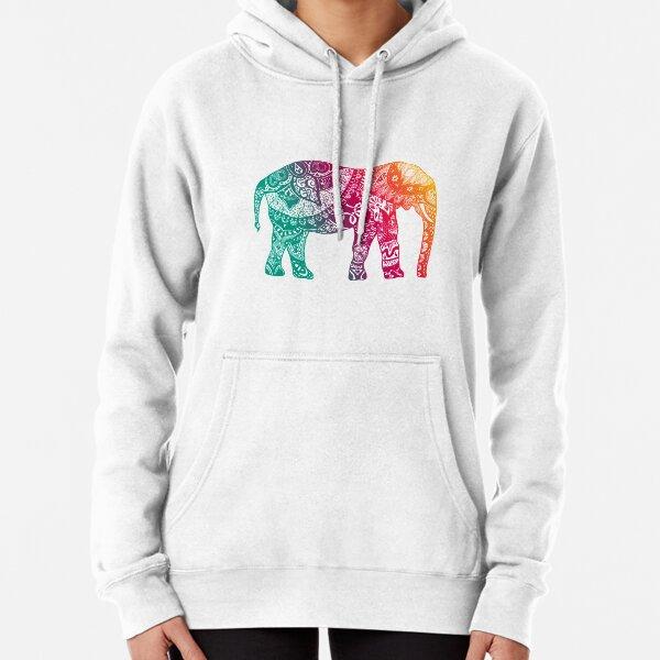 Warm Elephant Pullover Hoodie