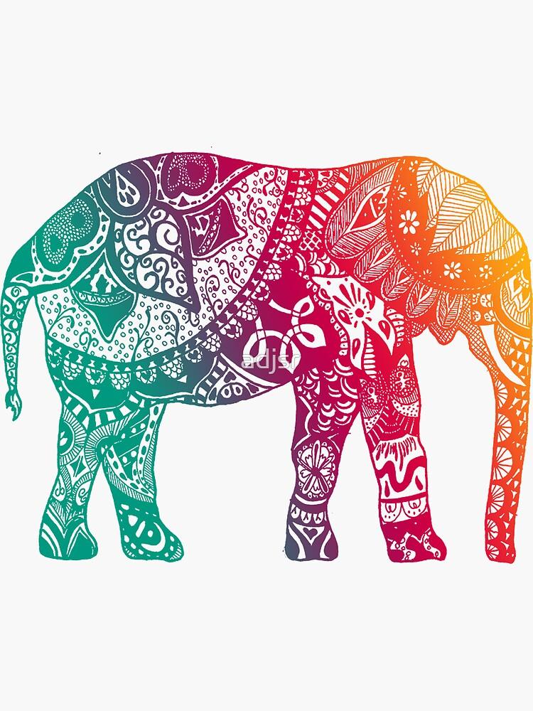 Warmer Elefant von adjsr