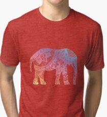 Pastel Elephant Tri-blend T-Shirt