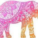 «Elefante rosa» de adjsr
