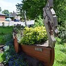 "Stamford Bridge - Viking Longboat Planter ""Ormen"" by Richard Winskill"