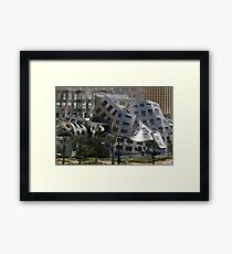 Cataclysmic Architecture Framed Print