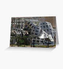 Cataclysmic Architecture Greeting Card