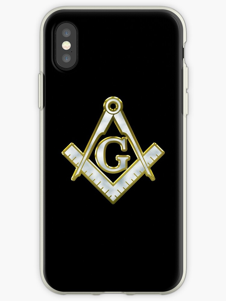 «Freemason Gold Bling Logo Square Compass» de Philly B. Fashion Co.