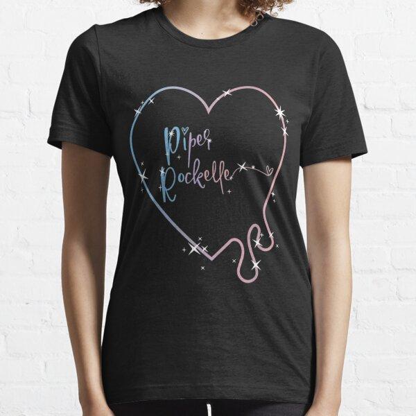 Vitntage Piper Rockelle Merch Drippy Heart Crop Essential T-Shirt