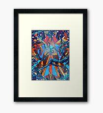 Mnemonic Traveler Framed Print