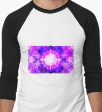 Purple Kaleidoscope Merchandise Men's Baseball ¾ T-Shirt