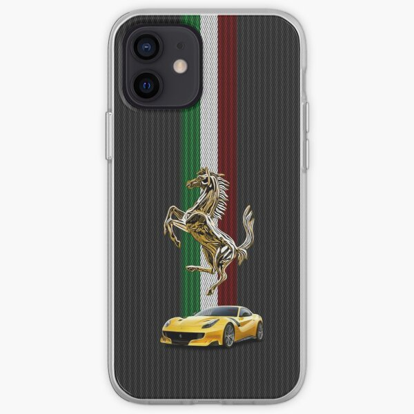 Super Car (BG) iPhone Soft Case