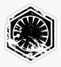 First Order - Black Sticker