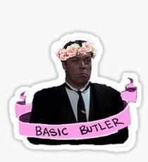 Wadsworth– Basic Butler Sticker