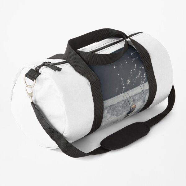 Loneliness of a fisherman Duffle Bag
