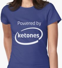 Powered By Ketones Women's Fitted T-Shirt