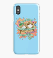 Friends, Waffles, Work. (Parks and Rec) iPhone Case