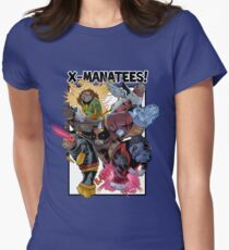 X-Manatees! SALE! Womens Fitted T-Shirt