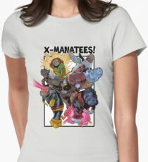 X-Manatees! SALE! Women's Fitted T-Shirt
