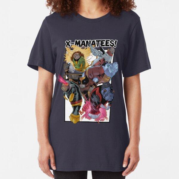 X-Manatees! SALE! Slim Fit T-Shirt