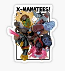 X-Manatees! SALE! Sticker