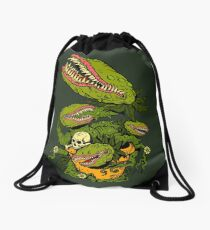 Venus Fly Trap Drawstring Bag
