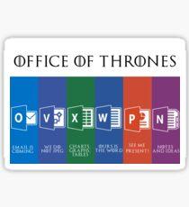 Office of Thrones Sticker