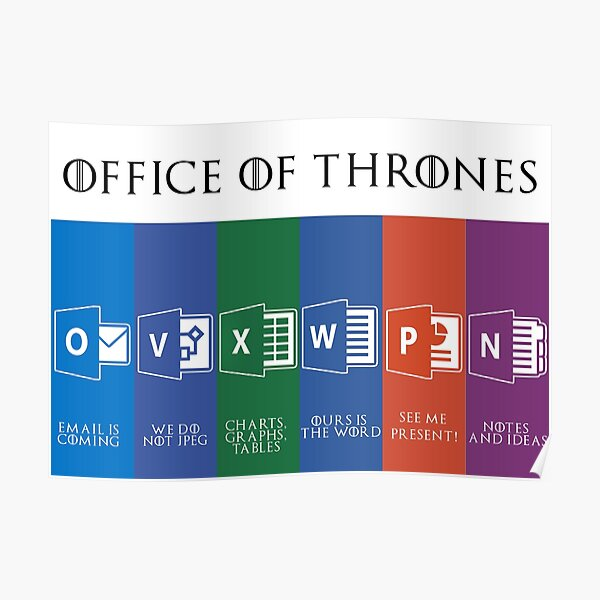Office of Thrones Poster