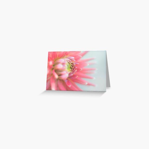Araluen Fire Dahlia Greeting Card
