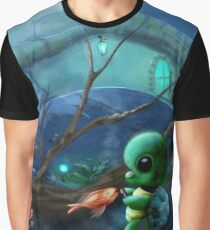 Turtle House Graphic T-Shirt