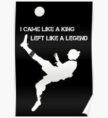 Left Like A Legend Poster