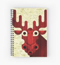 Cuaderno de espiral Alce