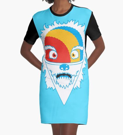 The Abominable Snow-Cone™ Graphic T-Shirt Dress