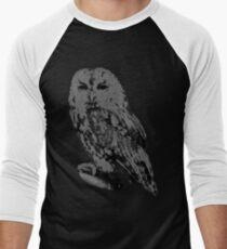 Night Owl Men's Baseball ¾ T-Shirt