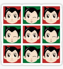 Astro Tiles - Wink Sticker