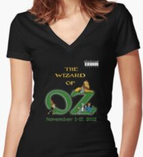 SMT - Wizard of Oz 2012 Official Merchandise Women's Fitted V-Neck T-Shirt
