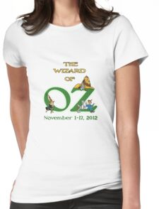 SMT - Wizard of Oz 2012 Official Merchandise Womens Fitted T-Shirt