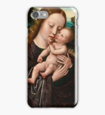 Ambrosius Benson VIRGIN AND CHILD iPhone Case/Skin