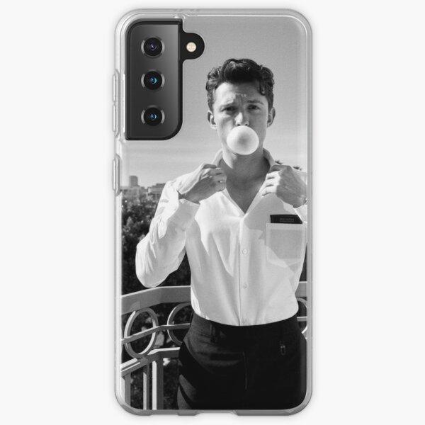 Tom Holland British Vogue 2021 Black&White Samsung Galaxy Soft Case