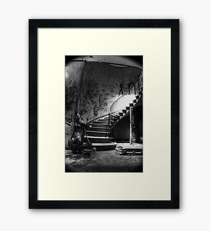 Spiraling Out Of Sight Framed Print