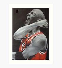 Jordan Airbrush Painting by Jmunz Art Print
