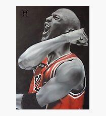 Jordan Airbrush Painting by Jmunz Photographic Print