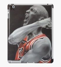 Jordan Airbrush Painting by Jmunz iPad Case/Skin
