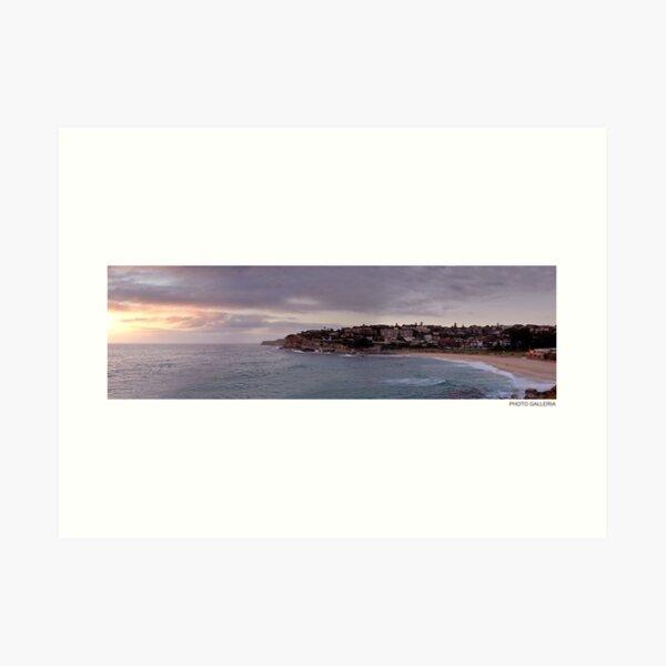 Bronte Beach Sydney Australia Art Print