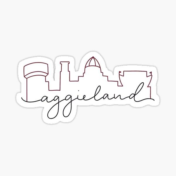 Aggieland Sticker