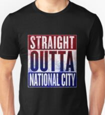Straight Outta National City Unisex T-Shirt