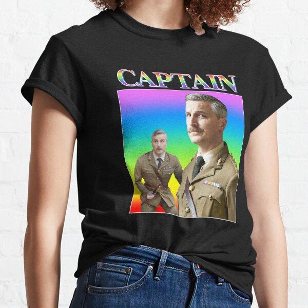 The Captain Vintage/Retro Design Classic T-Shirt