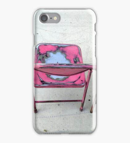 Save you a Chair iPhone Case/Skin